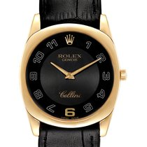 Rolex Cellini Danaos Yellow gold 34mm Black Arabic numerals United States of America, Georgia, Atlanta