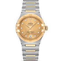 Omega Constellation Steel 29mm Yellow United States of America, California, Burlingame