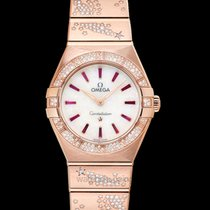 Omega Constellation Quartz Rose gold 28mm Mother of pearl United States of America, California, Burlingame