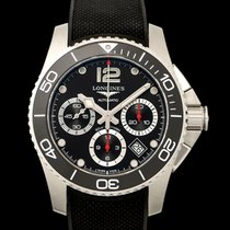Longines HydroConquest Steel 41.00mm Black United States of America, California, Burlingame