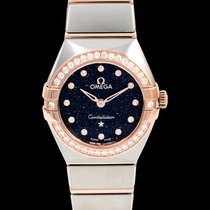 Omega Constellation Quartz Steel 25mm Blue United States of America, California, Burlingame