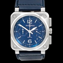 Bell & Ross BR 03-94 Chronographe Steel 42mm Blue United States of America, California, Burlingame