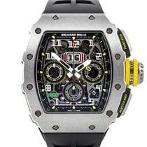 Richard Mille RM 011 RM011-03 New Titanium 49.94mm Automatic
