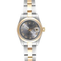 Rolex Oyster Perpetual Lady Date Steel 26mm Roman numerals