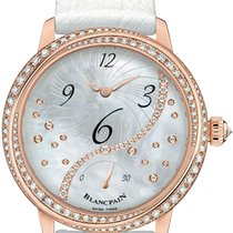 Blancpain Women Rose gold 36.8mm Mother of pearl United States of America, Florida, Sunny Isles Beach