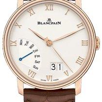 Blancpain Villeret neu 2021 Automatik Uhr mit Original-Box und Original-Papieren 6668-3642-55B