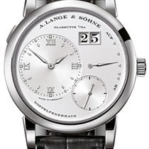 A. Lange & Söhne Lange 1 White gold 38.5mm Silver Roman numerals United States of America, Florida, Sunny Isles Beach