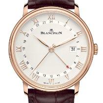 Blancpain Villeret neu 2021 Automatik Uhr mit Original-Box und Original-Papieren 6662-3642-55B