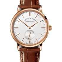 A. Lange & Söhne Saxonia Rose gold 37mm Silver United States of America, Florida, Sunny Isles Beach