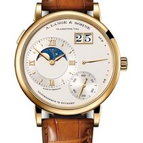A. Lange & Söhne Yellow gold Manual winding Champagne 41mm new Grand Lange 1