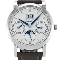 A. Lange & Söhne Saxonia White gold 38.5mm Silver United States of America, Florida, Sunny Isles Beach