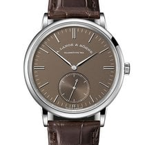 A. Lange & Söhne Saxonia White gold 38.5mm Brown United States of America, Florida, Sunny Isles Beach