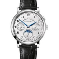 A. Lange & Söhne 1815 White gold 40mm Silver Arabic numerals United States of America, Florida, Sunny Isles Beach