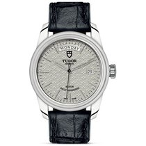 Tudor Glamour Date-Day Steel 39mm Silver United States of America, Pennsylvania, Holland