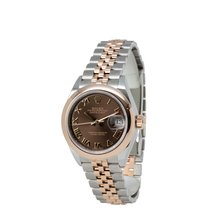 Rolex Lady-Datejust Gold/Steel 28mm Brown Roman numerals United States of America, New York, Hartsdale
