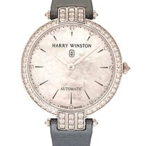Harry Winston White gold Automatic Mother of pearl 36mm new Premier