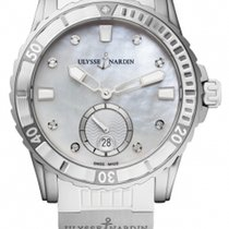 Ulysse Nardin Lady Diver Steel 40mm Mother of pearl United States of America, Florida, Sunny Isles Beach
