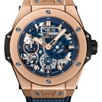 Hublot Big Bang Meca-10 nuevo 2020 Cuerda manual Reloj con estuche y documentos originales 414.OI.5123.RX
