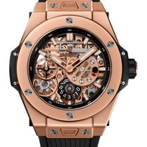 Hublot Oro rosa Cuerda manual Transparente 45mm nuevo Big Bang Meca-10