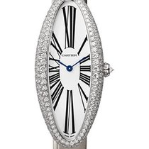 Cartier Weißgold 47mm Handaufzug WJBA0007 neu