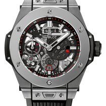 Hublot Big Bang Meca-10 Titanio 45mm Transparente
