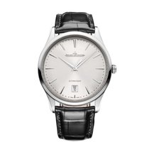 Jaeger-LeCoultre Master Ultra Thin Date Steel 39mm Silver United States of America, Florida, Sunny Isles Beach