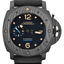 Panerai Carbon Automatic Black 47mm new Luminor Submersible 1950 3 Days Automatic