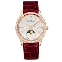 Jaeger-LeCoultre Master Ultra Thin Moon Rose gold 34mm Champagne United States of America, Florida, Sunny Isles Beach