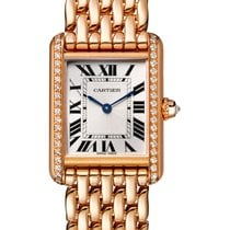 Cartier Tank Solo Rose gold 29.5mm Silver