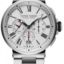 Ulysse Nardin Marine Chronograph 1533-150-7M/40 New Steel 43mm Automatic