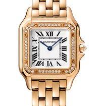 Cartier Panthère WJPN0009 Новые Pозовое золото 27mm Кварцевые