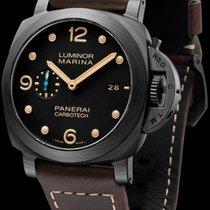 Panerai Carbon Automatic Black 44mm new Luminor Marina 1950 3 Days Automatic