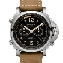 Panerai Luminor 1950 Regatta 3 Days Chrono Flyback Titanium 47mm Black United States of America, Florida, Sunny Isles Beach