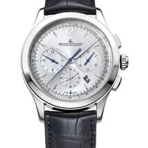 Jaeger-LeCoultre Master Chronograph Steel 40mm Silver Arabic numerals United States of America, Florida, Sunny Isles Beach