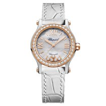 Chopard 278573-6020 Gold/Steel 2021 Happy Sport 30mm new United States of America, Florida, Sunny Isles Beach
