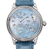 Glashütte Original PanoMatic Luna new 2021 Automatic Watch with original box and original papers 1-90-12-03-12-02