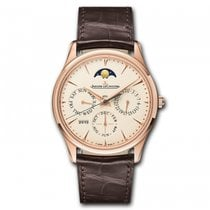 Jaeger-LeCoultre Master Ultra Thin Perpetual Rose gold 39mm Champagne United States of America, Florida, Sunny Isles Beach