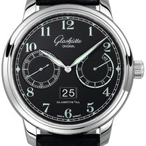 Glashütte Original Senator Observer Steel 44mm Black Arabic numerals United States of America, Florida, Sunny Isles Beach