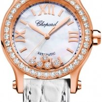 Chopard 274893-5010 Rose gold 2021 Happy Sport 30mm new United States of America, Florida, Sunny Isles Beach