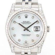 Rolex 116200 Сталь 2016 Datejust 36mm подержанные