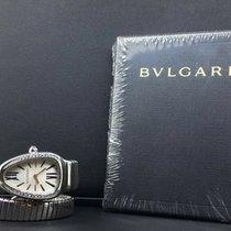 Bulgari Serpenti Stahl 35mm Silber Keine Ziffern