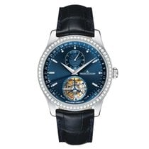 Jaeger-LeCoultre Master Tourbillon White gold 41.5mm Blue United States of America, Florida, Sunny Isles Beach