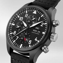IWC IW389101 Ceramic 2019 Pilot Chronograph Top Gun 44.5mm new