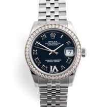 Rolex Lady-Datejust Steel 31mm Blue Roman numerals United Kingdom, London
