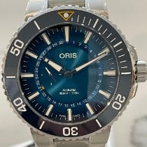 Oris Steel 43.5mm Automatic 01 743 7734 4185-Set new Australia