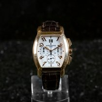 Vacheron Constantin Rose gold Chronograph Silver pre-owned Royal Eagle