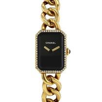 Chanel Première Yellow gold 15mm Black