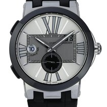Ulysse Nardin Executive Dual Time Acier 43mm Blanc