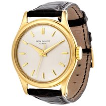 Patek Philippe Calatrava Yellow gold 35mm White No numerals