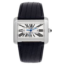 Cartier Tank Divan Steel 38mm White Roman numerals United States of America, Florida, Surfside